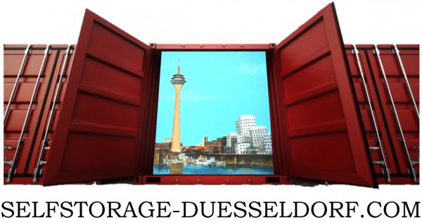 Selfstorage Düsseldorf – einlagern leicht gemacht