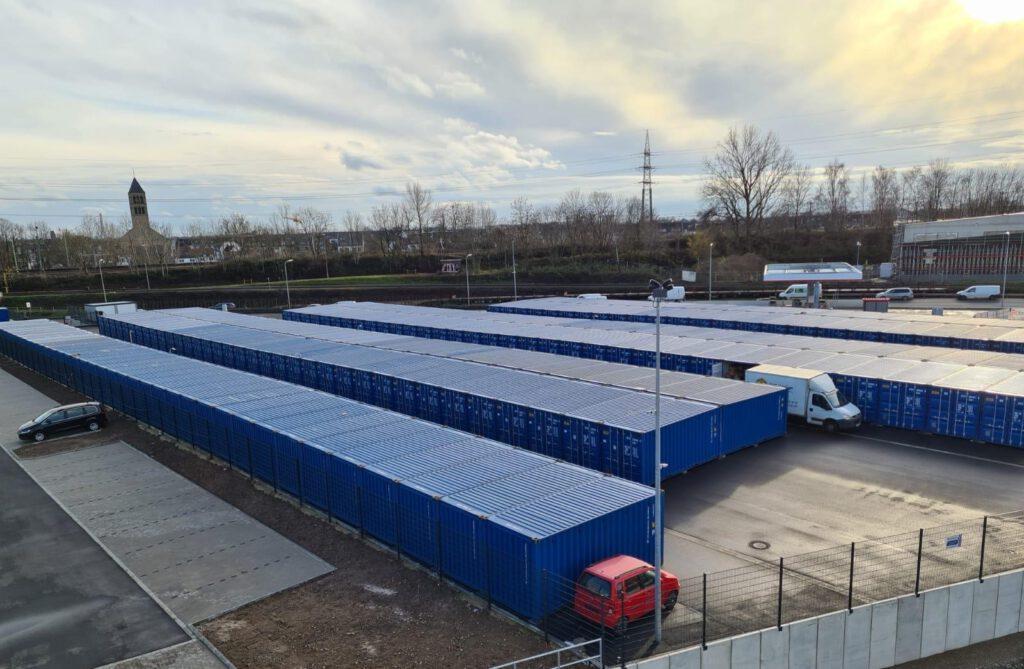 Container für Selfstorage in Düsseldorf